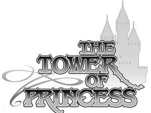 THE TOWER OF PRINCESS タイトルロゴベースデザイン