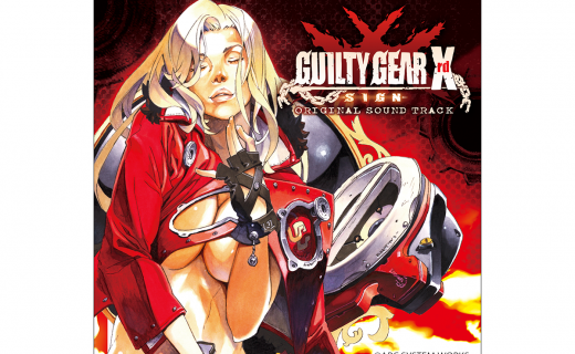 GUILTY GEAR Xrd SIGN ORIGINAL SOUND TRACK CD
